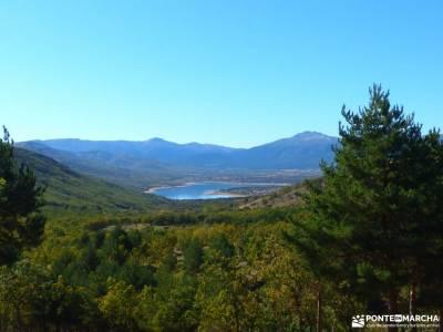 Sabinar y Valle de Lozoya; tierra de fuego viajes sightseeing experiencia senderismo